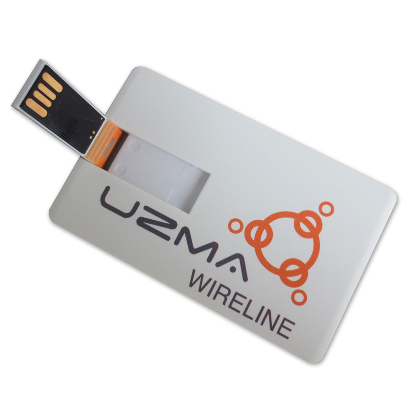 Credit Card Size Usb Flash Drive Promotional With Custom Logo Easysources